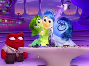 Screen grab of youtube video 'Inside Out US Teaser Trailer' Web to Watch - Inside Out Catch a sneak peek at what's next for Pixar. The animation studio posted a teaser trailer for the summer 2015 movie Inside Out starring Amy Poehler, Bill Hader, Lewis Black and Mindy Kaling. The movie focuses on the personified emotions (e.g. disgust, fear, anger, sadness) inside the head of a young girl. youtube.com/DisneyPixar